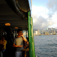 Hong Kong fun guide, the Star Ferry is a great way to cross the harbour