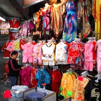 Shopping in Stanley market, Hong Kong South