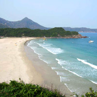 Hong Kong travel, nature, New Territories beach, Tai Long Wan