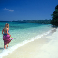 Andaman Islands Havelock Island beach