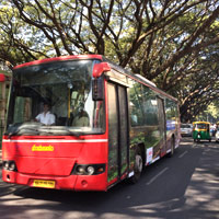 Bangalore business hotels review - city transport, buses