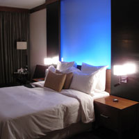 New Delhi business hotels, Le Meridien Club Room