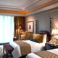 New Delhi business hotels, colonial room at The Leela Palace