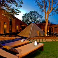 Gurgaon business hotels, Westin Sohna Gurgaon, meditation pyramid