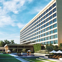 The new look Oberoi New Delhi exterior, smart and contemporary