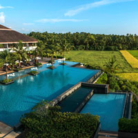 Goa resorts review, ALila Diwa has a great location by rice fields