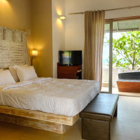 Goa resorts review, Casa Vagator room