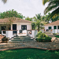 Goa villas and cottages review, Dona Sylvia