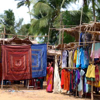 Goa shopping guide, flea market