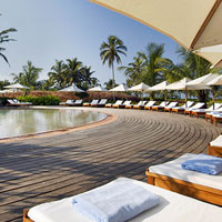 Best Goa beach resorts, Park Hyatt pool