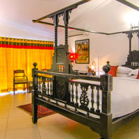 Goa boutique hotels, Shanti Morada colours