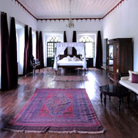 Siolim House Macao Suite with timber floors