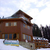 Gulmarg hotel, Green Heights, next to Hotel Hilltop