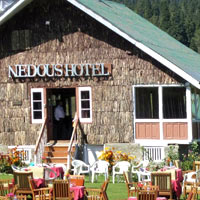 Nedou's is a popular Gulmarg hotel choice, mainly in the summers