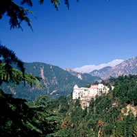 Dharamsala hill station, India