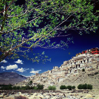 Ladakh guide to hotels and sights, Thikse Monastery
