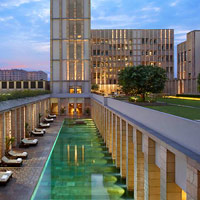 The Lodhi New Delhi is a stylish retreat