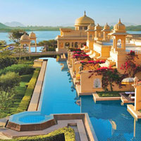 Romantic spa locations, India, Oberoi Udaivilas, Udaipur