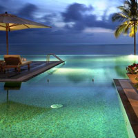 India spa hotels, The Leela Kovalam Beach