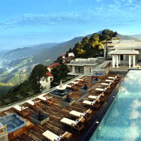 India spas, Moksha Himalaya resort in the hills