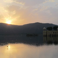 Jaipur fun guide, Jal Mahal lake
