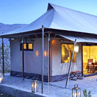 Ladakh luxury tents and hotels, Chamba Camp Diskit Nubra