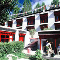 Lharimo Hotel is close to town with easy access to restaurants