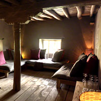 Ladakh guide to hotels, Shakti cottage room