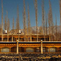 Any best Leh hotels review will include Ladakh Sarai's yurts and newer accommodation