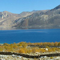Pangong Lake is a big Ladakh attraction