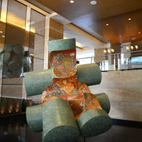 Top Mumbai hotels for corporate meetings and conferences, Grand Hyatt, an art spot