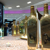Johnnie Walker Double Black has some special duty-free prices at Mumbai's Terminal 2