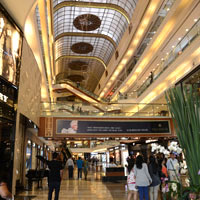 Mumbai shopping, the swish Palladium mall