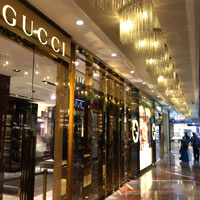 Mumbai brand shopping, the swish Palladium mall and Gucci flagship store