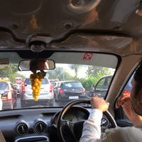 Mumbai traffic is legendary