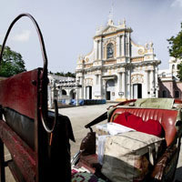 Pondicherry fun guide, French churches are littered around the enclave