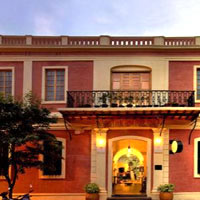 Pondicherry fun guide, classy Hotel de l'Orient