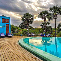 Pondicherry fun guide, Dune Eco Village pool