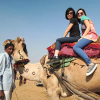 Camel rides in Rajasthan, Pushkar fair