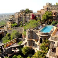 Get a massage at Neemrana Fort-Palace, Rajasthan
