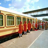 Palace on Wheels luxury train to tour Rajasthan