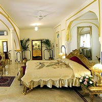Rajasthan palace hotels, Raj Palace is plush and ornate