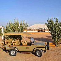 Rajasthan luxury tented camps, The Serai