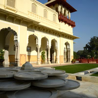 Top Jaipur palace hotels, Taj Rambagh Palace