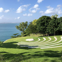 Best Bali destination weddings - amphitheatre at SKY, Ayana Bali