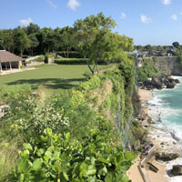 SKY at Ayana offers outdoor grassy venues for Bali destination weddings and events