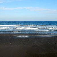 Bali fun guide, east coast black sand beaches