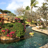 Grand Hyatt Bali is a top child-friendly hotels pick with 5 swimming pools