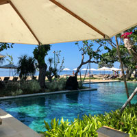 Bali child friendly hotels, Hyatt Regency pool in Sanur