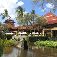 InterCon Bali is both a top spa hotels choice as well as a child-friendly option